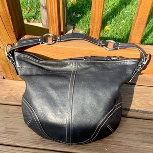 Coach Hobo Purse with signature lining
